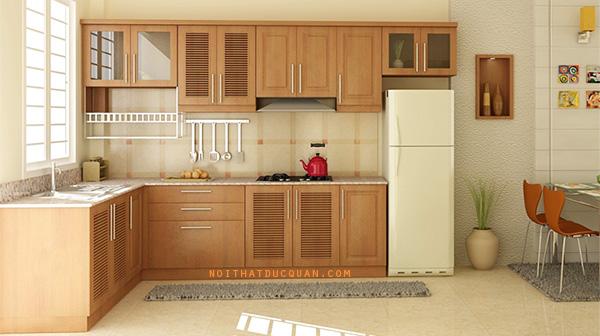 nhận làm tủ bếp tại thái bình