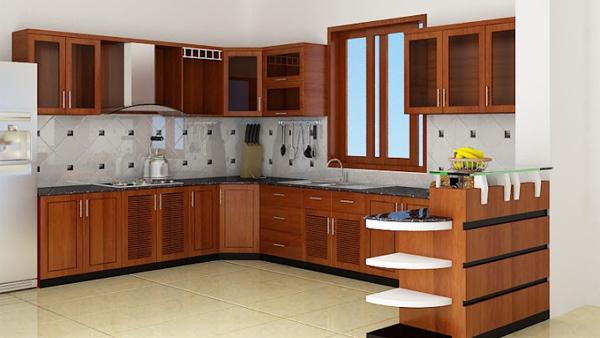 Thi công tủ bếp ở Bắc Giang