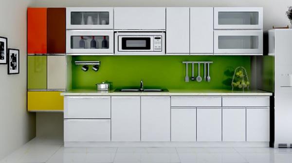 Không nên làm tủ bếp bằng gỗ nhựa 100%