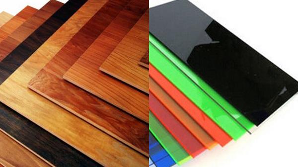 Tủ bếp laminate và tủ bếp acrylic loại nào tốt hơn ?