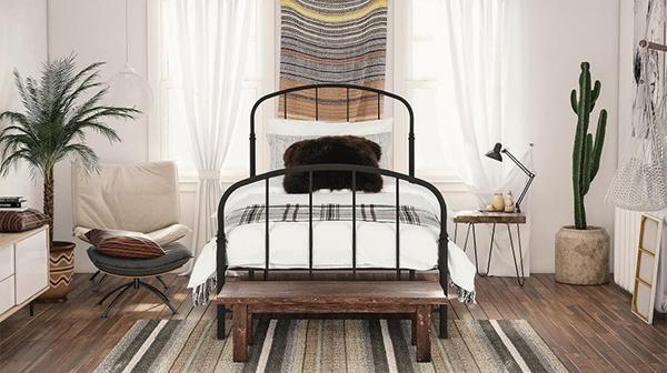 5 mẫu phòng ngủ thiết kế theo phong cách Rustic giản dị