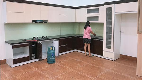 Thi công nội thất nhà anh Quỳnh - Bắc Giang