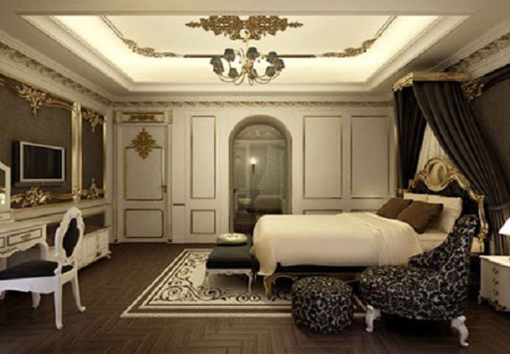 Nội thất phòng ngủ mang phong cách Châu Âu