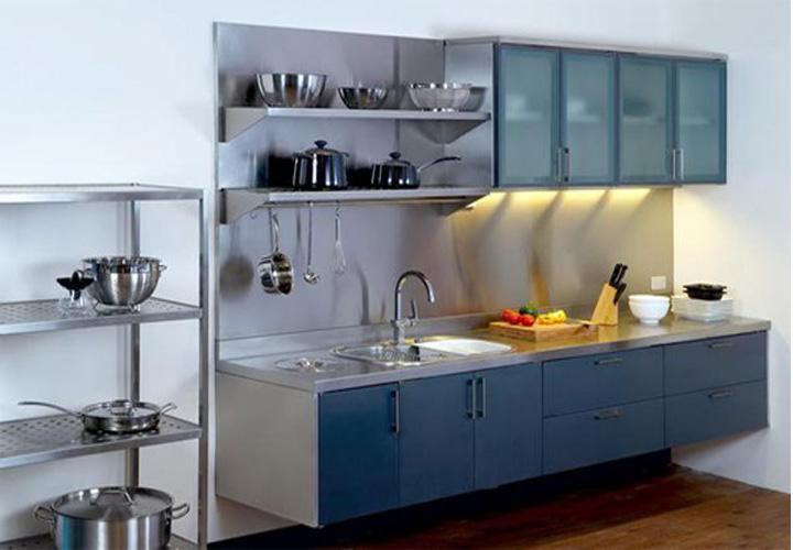 Tủ bếp INOX IN10