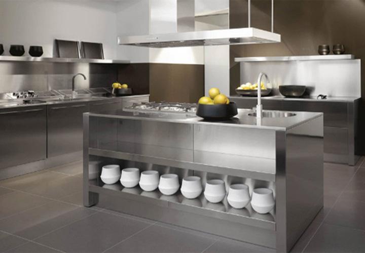 Tủ bếp INOX IN09