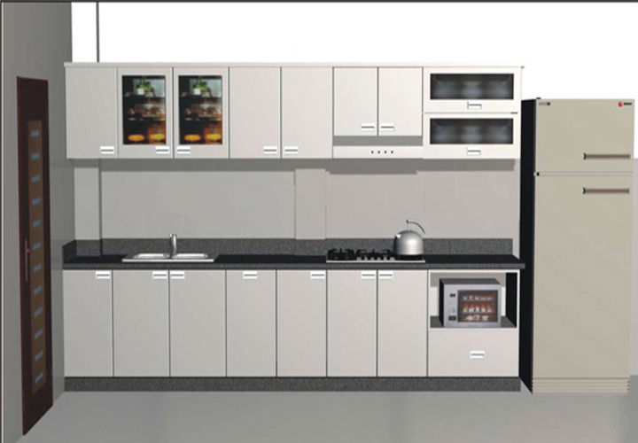 Tủ bếp INOX IN05