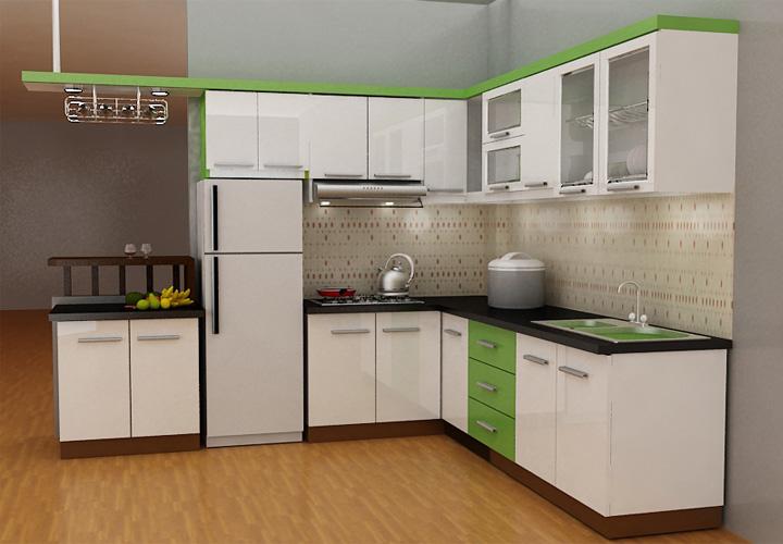 Tủ bếp gỗ công nghiệp CN-031