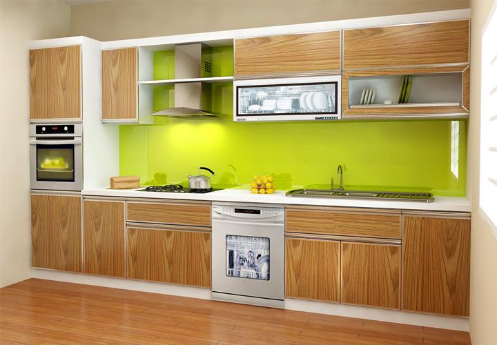 Tủ bếp gỗ sồi S03