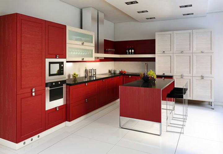 Tủ bếp gỗ An Cường AC12