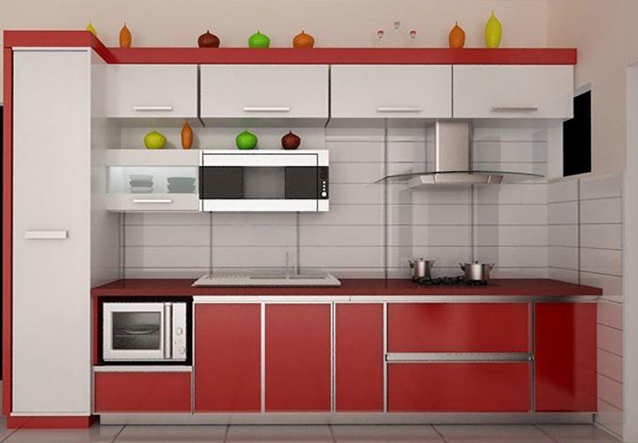 Tủ bếp gỗ nhựa Picomat PM13