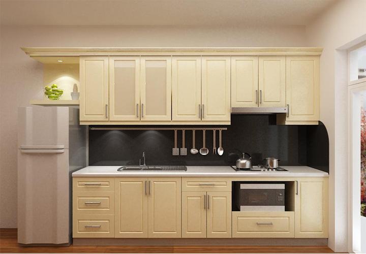 Tủ bếp gỗ Laminate LMT10