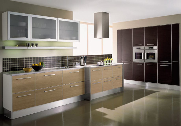 Tủ bếp gỗ Laminate LMT11