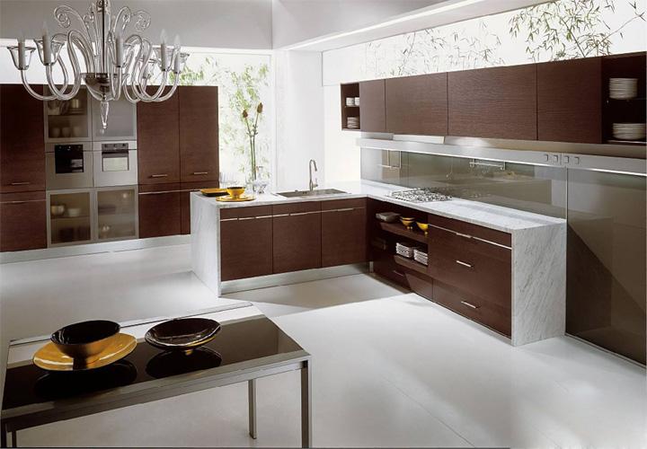 Tủ bếp gỗ Laminate LMT15