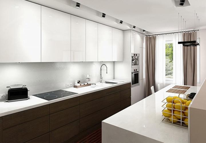 Tủ bếp gỗ Laminate LMT18