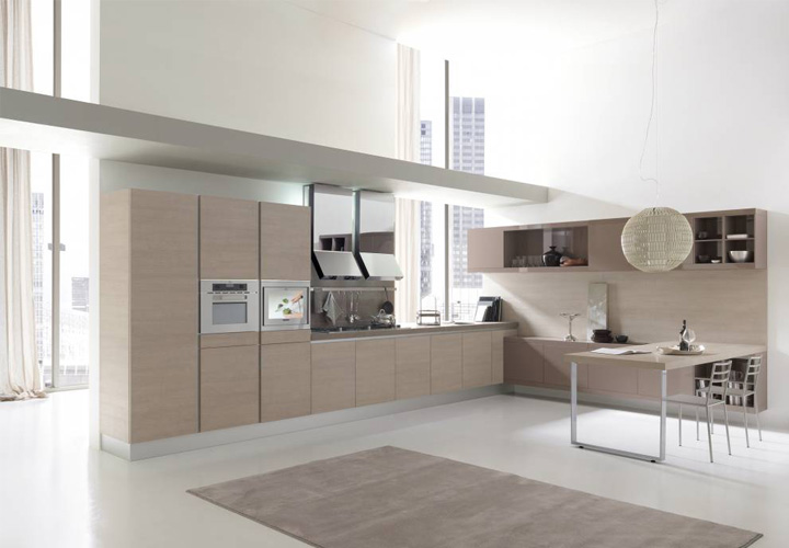 Tủ bếp gỗ Laminate LMT20