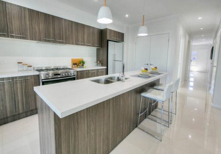 Tủ bếp gỗ Laminate LMT21