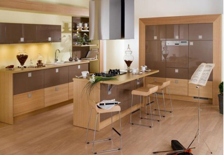 Tủ bếp gỗ Laminate LMT23