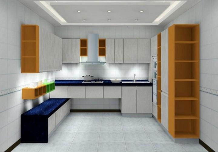 Tủ bếp gỗ Laminate LMT24