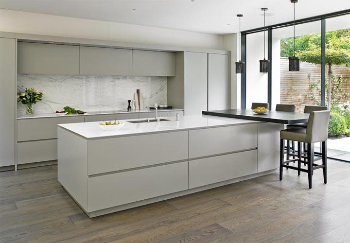 Tủ bếp gỗ Laminate LMT25