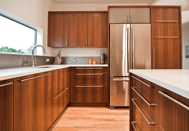 Tủ bếp gỗ Laminate LMT26