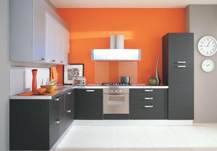 Tủ bếp gỗ Laminate LMT27