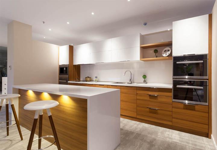 Tủ bếp gỗ An Cường AC18