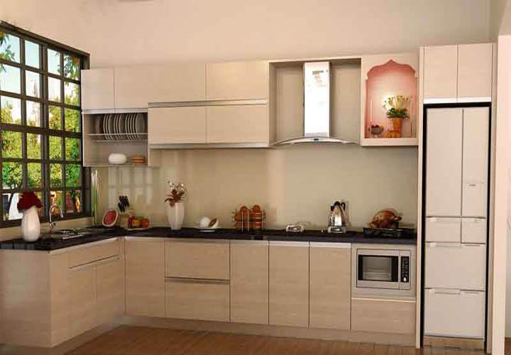 Tủ bếp gỗ An Cường AC19
