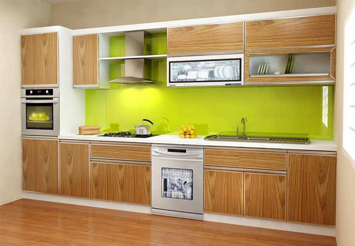 Tủ bếp gỗ nhựa Picomat PM15