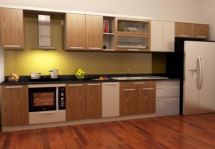 Tủ bếp gỗ nhựa Picomat PM16