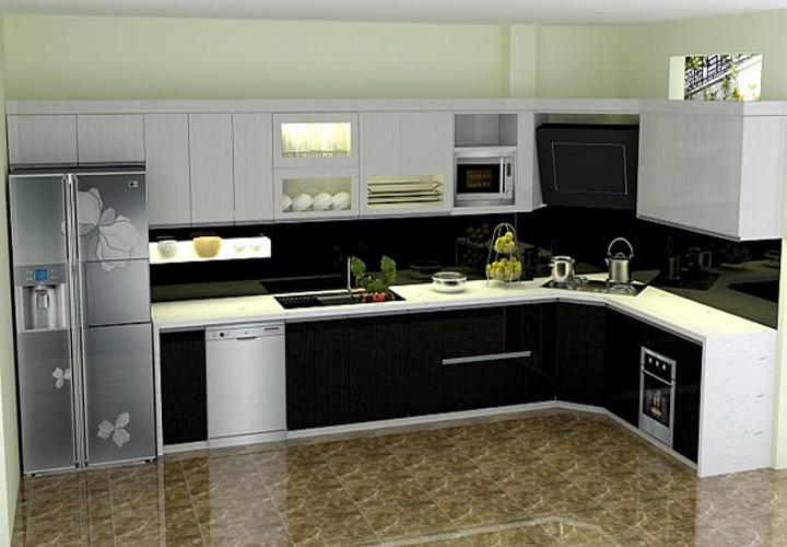 Tủ bếp gỗ nhựa Picomat PM17