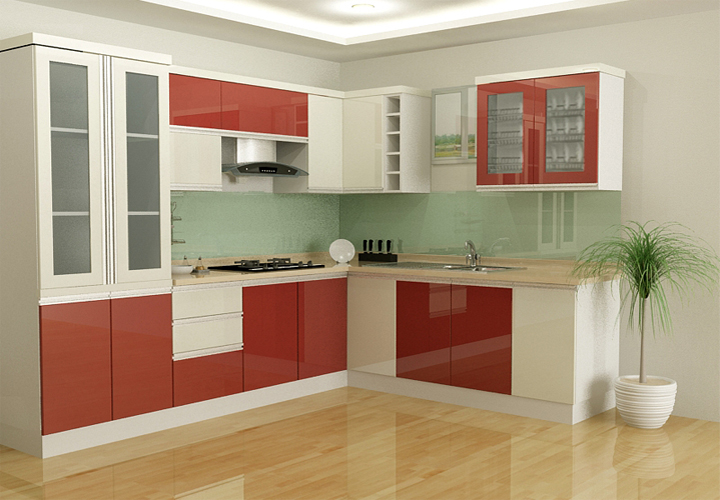 Tủ bếp gỗ nhựa Picomat PM18