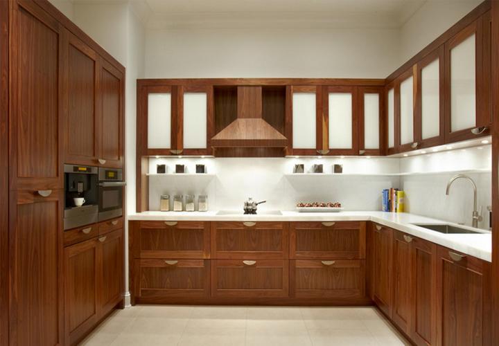 Tủ bếp gỗ công nghiệp CN09