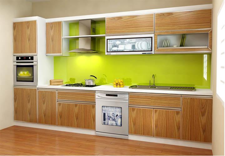 Tủ bếp gỗ An Cường AC20