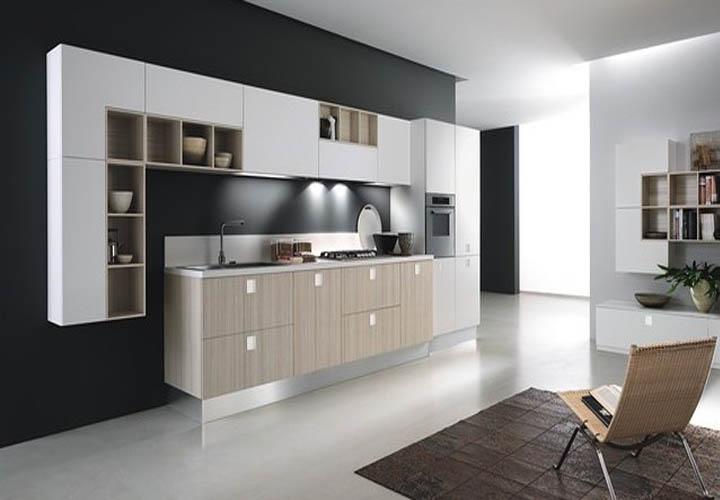 Tủ bếp gỗ An Cường AC22