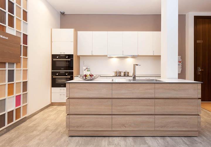 Tủ bếp gỗ An Cường AC25