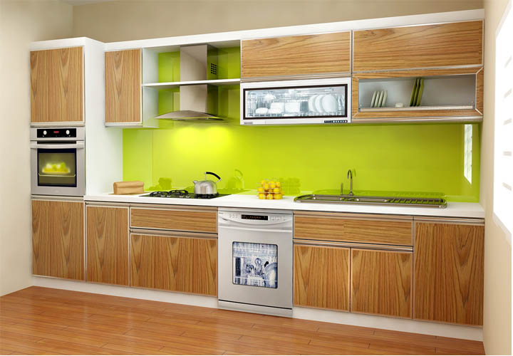 Tủ bếp gỗ công nghiệp CN20