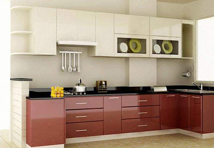 Tủ bếp gỗ nhựa Picomat PM21