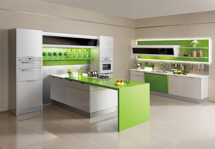 Tủ bếp gỗ nhựa Picomat PM23