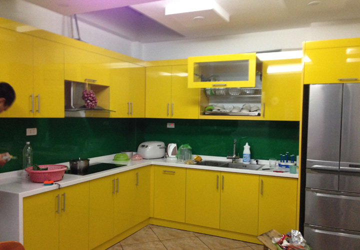 Tủ bếp gỗ nhựa Picomat PM22