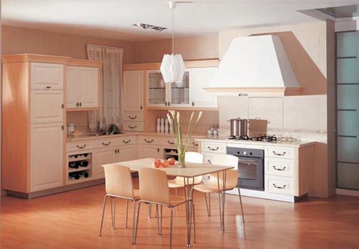 Tủ bếp gỗ xoan đào XD14