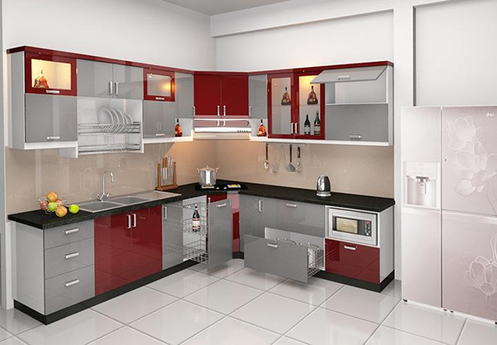 Tủ bếp INOX IN12