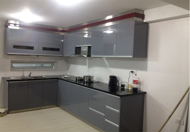 Tủ bếp INOX IN19