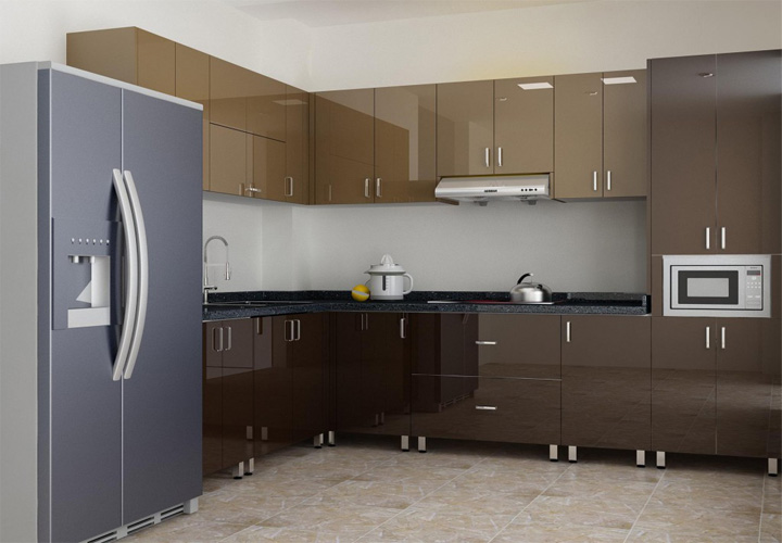 Tủ bếp INOX IN20
