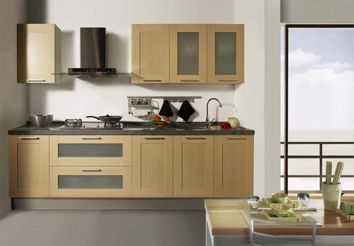 Tủ bếp gỗ công nghiệp CN21