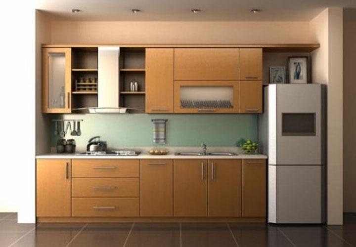 Tủ bếp gỗ công nghiệp CN25
