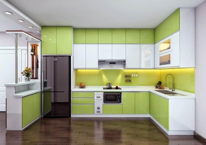 Tủ bếp Acrylic - AC3