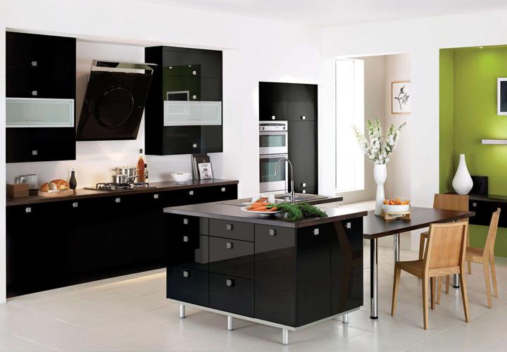 Tủ bếp Acrylic cao cấp AC08