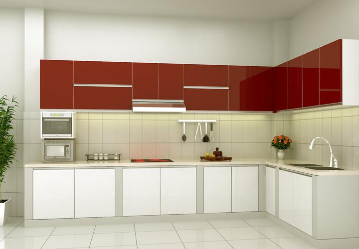 Tủ bếp Acrylic - AC10