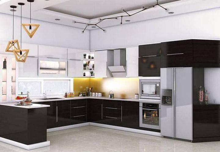 Tủ bếp Acrylic - AC11