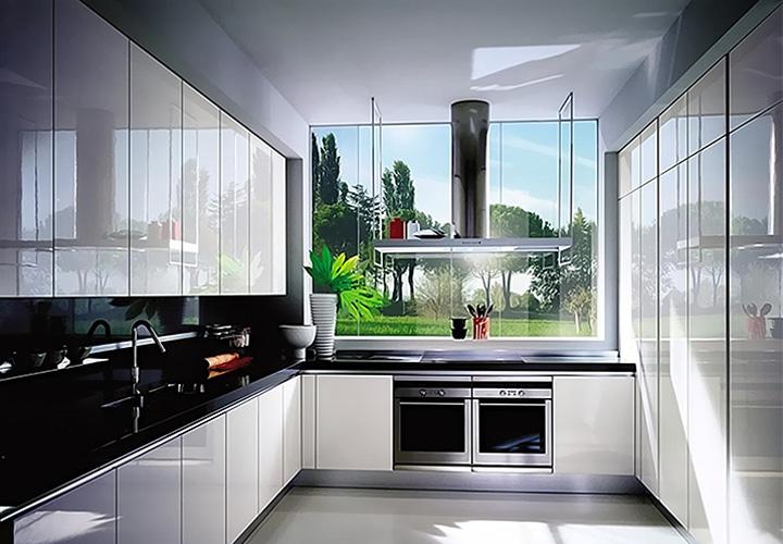 Tủ bếp Acrylic - AC12